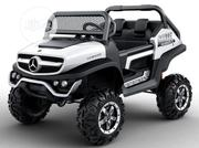 Two Sit Mercedes Unimog Ride on Car , for Big Kids   Toys for sale in Lagos State, Lekki Phase 1