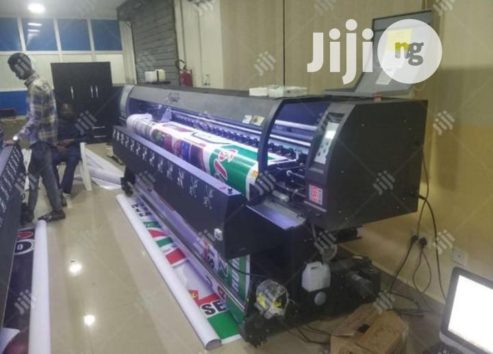 Brand New Yinghe 10ft 3.2m Large Format Eco Solvent Printing Machine | Printing Equipment for sale in Ikeja, Lagos State, Nigeria