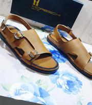 MORESCHI Men'S Italian Leather Sandals | Shoes for sale in Lagos State, Lagos Island
