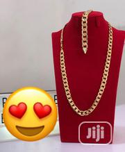 Italia 750 Gold Plated Neckchain and Handchain | Jewelry for sale in Lagos State, Lagos Island