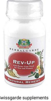 Revive Your Sexual Drive With Swissgarde Revup | Sexual Wellness for sale in Rivers State, Port-Harcourt