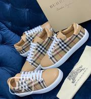 Burberry Canvas Sneaker Available as Seen Order Yours Now | Shoes for sale in Lagos State, Lagos Island