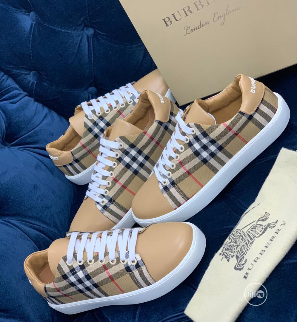 Burberry Canvas Sneaker Available as Seen Order Yours Now