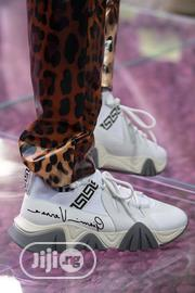 *Gianni Versace * *Squalo Hiker Ss-20 Sneaker•* *White,   Shoes for sale in Lagos State, Lagos Island