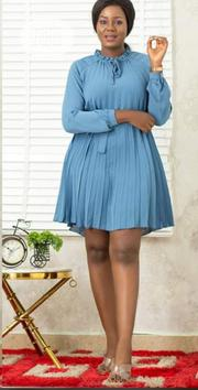 Quality Female Pleated Short Gown | Clothing for sale in Lagos State, Magodo