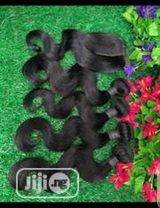 Peruvian Body Wave Wit Matching Closure | Hair Beauty for sale in Lagos State, Yaba