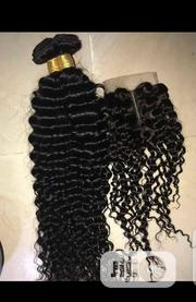 Deep Wave Wit Closure   Hair Beauty for sale in Lagos State, Yaba