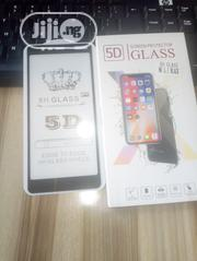 Nokia 5.1 Full Glue Screen Protector Glass | Accessories for Mobile Phones & Tablets for sale in Delta State, Uvwie