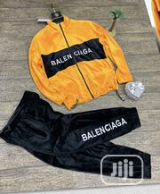 Balenciaga Men'S Tracksuits Yellow Black | Clothing for sale in Lagos State, Ikeja