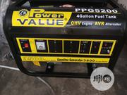 Power Value PPG5200 3.8Kva Gasoline Generator | Electrical Equipment for sale in Lagos State, Ojo