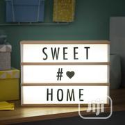 A5 USB And Battery Powered LED Cinematic Light Box - Black | Home Accessories for sale in Lagos State, Lagos Island