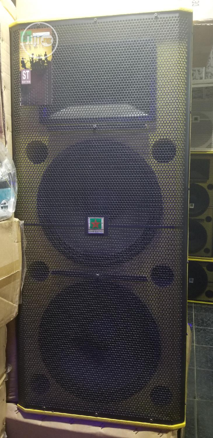 Sound Prince 725 Acoustic Double Speaker | Audio & Music Equipment for sale in Ojo, Lagos State, Nigeria