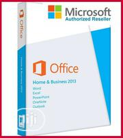 Microsoft Office Home And Business 2013 1 PC | DVD | Software for sale in Lagos State, Ikeja