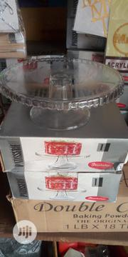 Glass Cake Stand 9&Half Inches 11c/Oinche Too& Stand Turkey Product | Kitchen & Dining for sale in Rivers State, Port-Harcourt