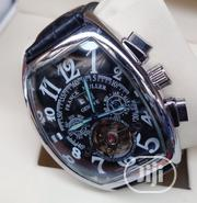 Classic Automatic Franck Muller Wristwatch With Genuine Leather   Watches for sale in Lagos State, Lagos Island