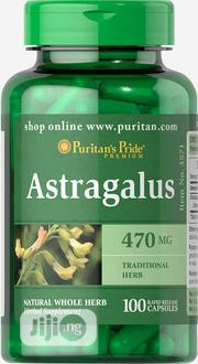 Puritans Pride Astragalus 470mg - 100 Capsules | Vitamins & Supplements for sale in Lagos State, Lekki Phase 1
