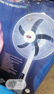 OX 18inchs Rechargeable Standing Fan 10 Hours Low Speed | Home Appliances for sale in Lagos State, Ikeja