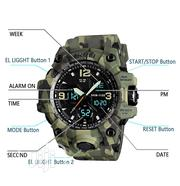 Men's Analog Sports Watch, LED Military Wrist Watch Water Proof   Watches for sale in Oyo State, Egbeda