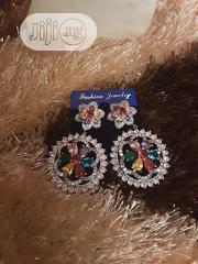 Cubic Zirconia Earrings Silver | Jewelry for sale in Lagos State