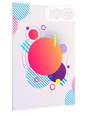 Abstract Geometric Modern Circles Background Art Poster | Arts & Crafts for sale in Lagos State, Lekki Phase 1