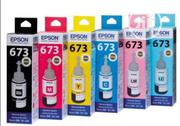 Epson T673 Multicolor Ink Pack Of 6 | Accessories & Supplies for Electronics for sale in Lagos State, Ikeja