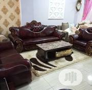 Royal Leather Sofa. | Furniture for sale in Lagos State, Lekki Phase 2
