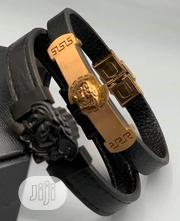 Versace Leather Bangle | Jewelry for sale in Lagos State, Lagos Island