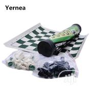 Tournament Chess Set With Cylinder Carrier Box   Books & Games for sale in Lagos State, Yaba