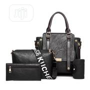 4 Sets Classic Stylish Handbag - Black | Bags for sale in Lagos State, Surulere