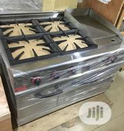 4 Burners Gas Cooker With Oven And Griddle | Kitchen Appliances for sale in Lagos State, Ojo