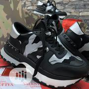 Valentino Garavani Black Camouflage Men's Sneakers | Shoes for sale in Lagos State, Lagos Island