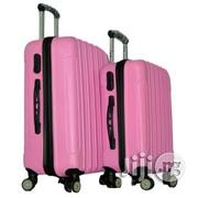 4 Wheel ABS Pink Luggage 24/20 Inches | Bags for sale in Lagos State