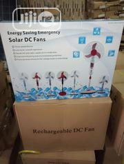 Rechargeable Solar DC Fan Available With 1yr Warranty   Solar Energy for sale in Lagos State, Ojo
