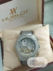 Hublot Gray Leather Watch   Watches for sale in Lagos State, Agboyi/Ketu