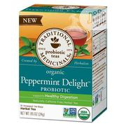 Traditional Medicinals Organic Peppermint Delight Probiotic Tea, 16cnt | Vitamins & Supplements for sale in Lagos State, Lekki Phase 1