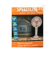 SPEEDLITE Quality Mini Rechargeable Fan With Lamp | Home Accessories for sale in Lagos State, Lagos Island