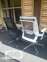 Grey and Black Mesh Swivel Office Chairs | Furniture for sale in Lagos State, Lekki Phase 1