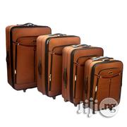 Trolley Travel Bag 4 Piece - Brown | Bags for sale in Lagos State