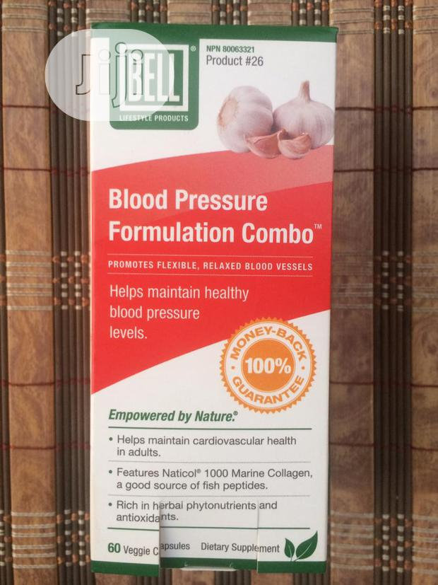 Blood Pressure Combo To Stabilize Blood Pressure Levels