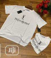 Authentic St Lauren T-Shirts(Black White) | Clothing for sale in Lagos State, Alimosho