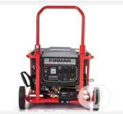 Sumec Eco 3990ES Generator With Key Start Battery and Two Wheels | Electrical Equipment for sale in Abia State, Umuahia