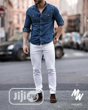 Smart Fit Black And Whitejeans For Men | Clothing for sale in Lagos State, Ikeja