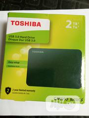 Toshiba 2TB Hard Drive USD3.0 External Harddisk Drive   Computer Hardware for sale in Lagos State, Ikeja