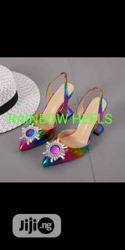 Quality Rainbow Heels | Shoes for sale in Lagos State, Isolo