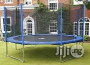 New 12ft Galvanized Steel Trampoline Set | Sports Equipment for sale in Lagos State, Surulere
