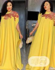 Lovely Yellow Mazi Gown | Clothing for sale in Lagos State, Lagos Island