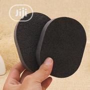 Soft Natural Black Bamboo Charcoal Facial Sponge | Bath & Body for sale in Lagos State, Amuwo-Odofin