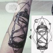 Hour Glass Body Art Temporary Tattoo Sticker | Tools & Accessories for sale in Lagos State
