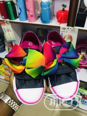 Beautiful Unique Classic Girl Children Sneakers With Bow | Children's Shoes for sale in Lagos State, Ikeja