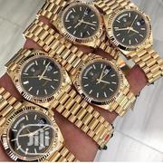 Rolex Fashion Gold Wrist Watch   Watches for sale in Lagos State, Surulere